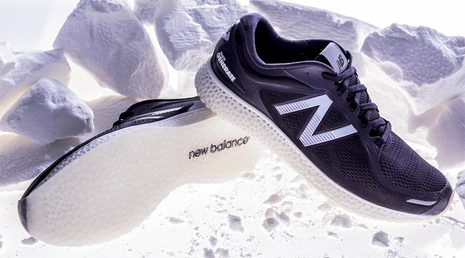 New Balance gewinnt das Rennen um 3D-gedruckten Laufschuh