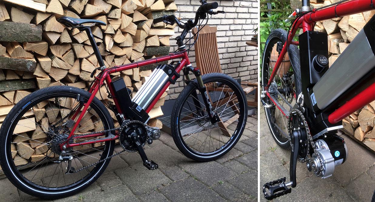 E-Bike – Umrüstsatz aus dem 3D-Drucker