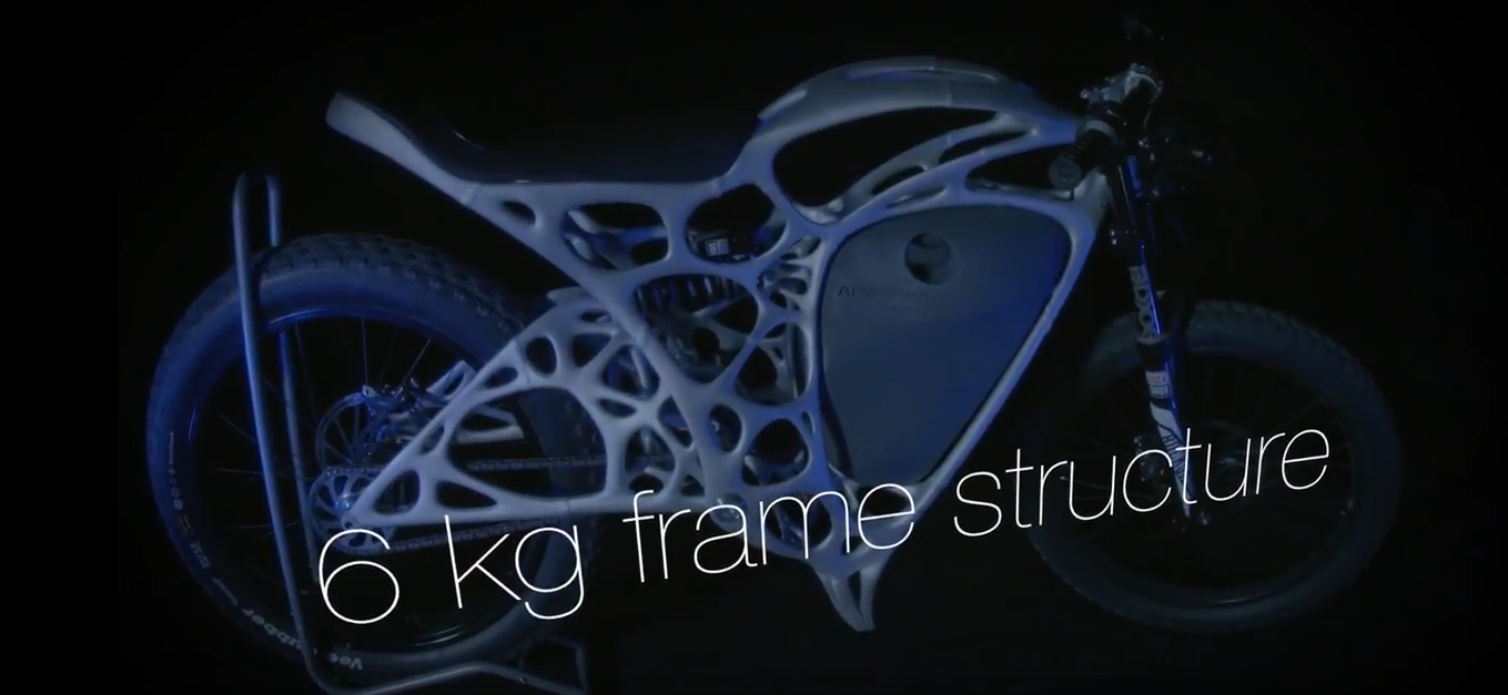 APWORKS Light Rider – das weltweit erste 3D-gedruckte Motorrad