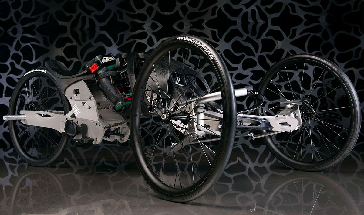 3D-Druck inspiriert Akkuschrauberrennen 2016