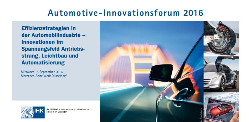 Automotive-Innovationsforum 2016