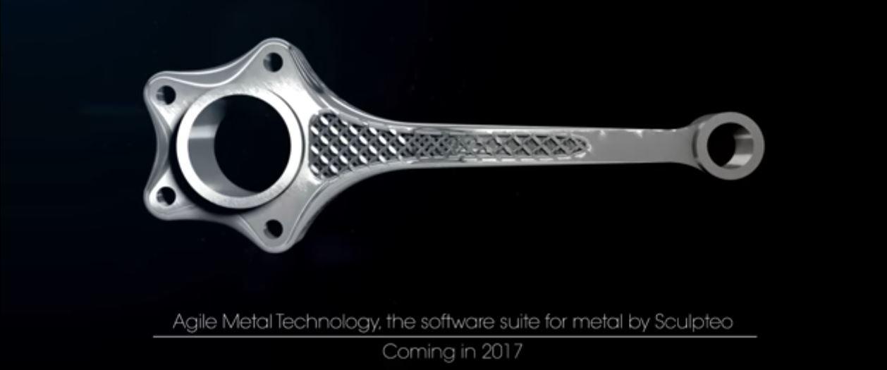 Sculpteo optimiert den 3D Metalldruck mit künstlicher Intelligenz (KI)