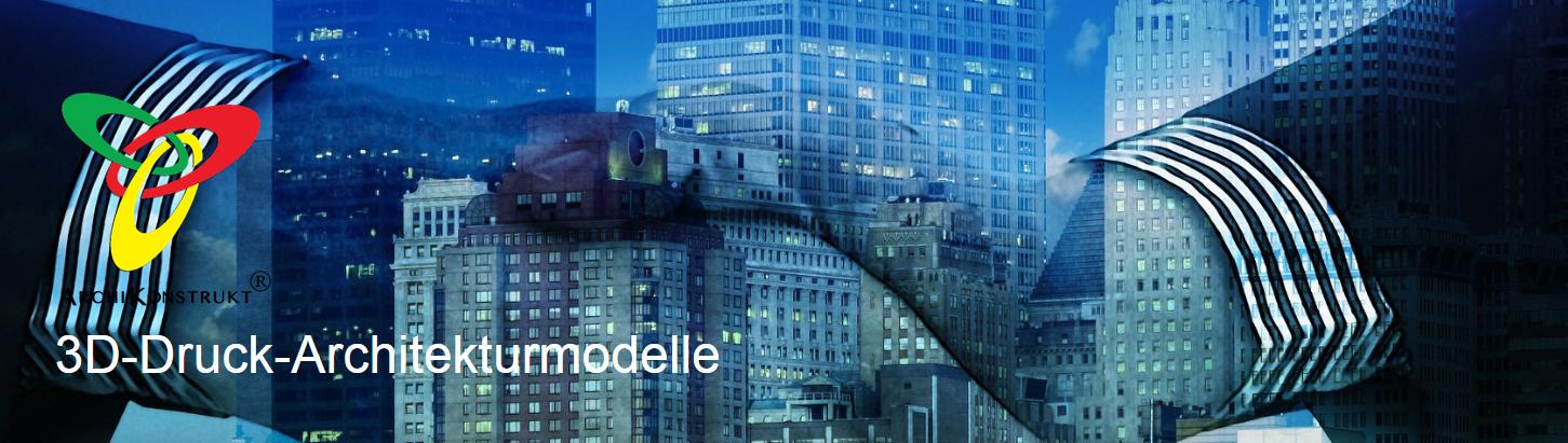 ArchiKonstrukt 3D-Modelle