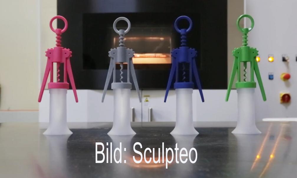 Superschnelle 3D-Drucker ante portas