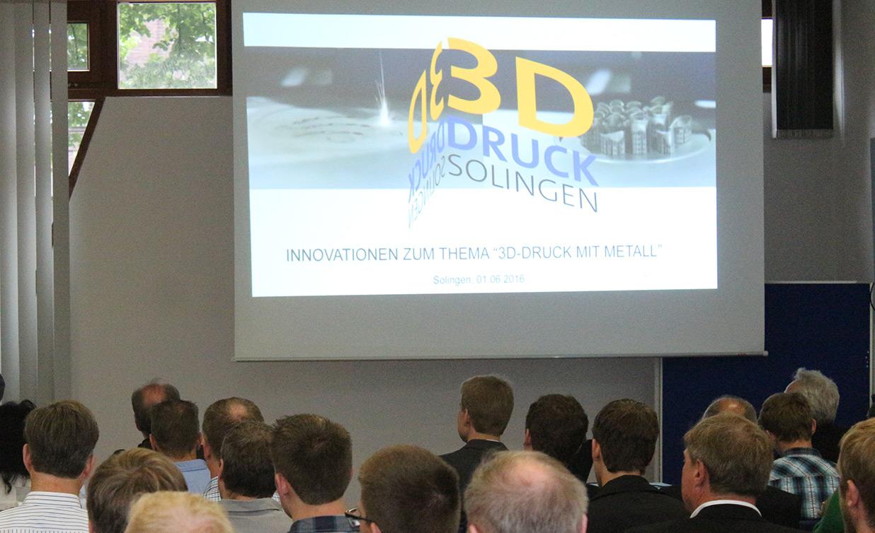 """Ausgebuchte Veranstaltung """"Innovationen zum Thema 3D-Druck mit Metall"""""""