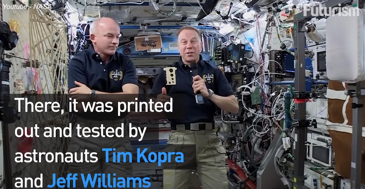 Produziert wird, wo die Produkte gebraucht werden: 3D-Druck im Weltraum