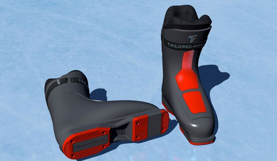 3D-Netzwerkmitglied Materialise und Tailored Fits schaffen weltweit erste durchgängige digitale Lieferkette für maßgeschneiderte Skischuhe