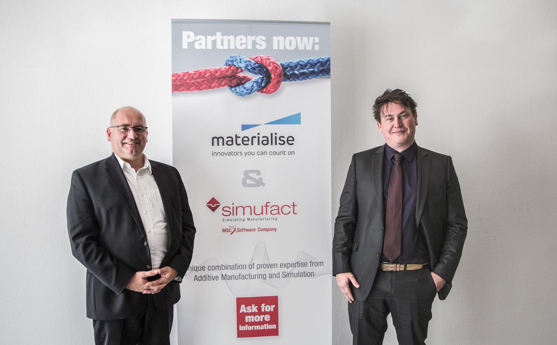 Unsere Netzwerk-Mitglieder Simufact und Materialise starten Kooperation zur Integration von Simulation im 3D-Metalldruck