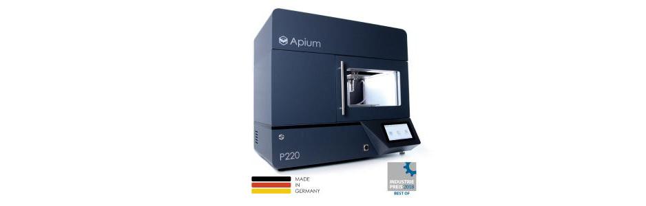 Apium gewinnt den Industriepreis 2018