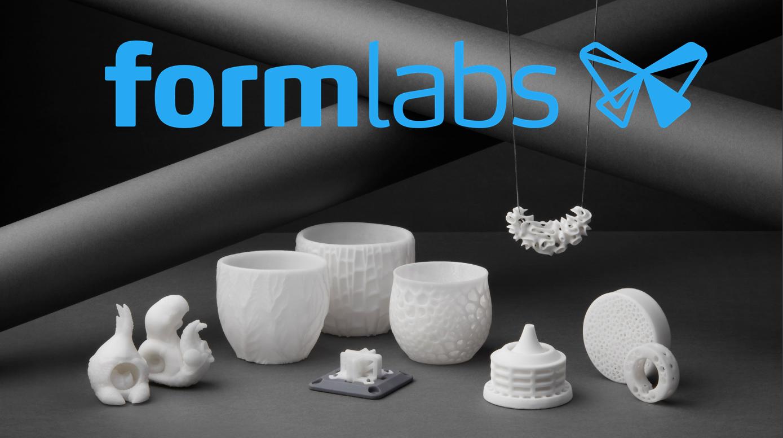 Formlabs: 3D-Druck mit Keramik jetzt auch für den Desktop