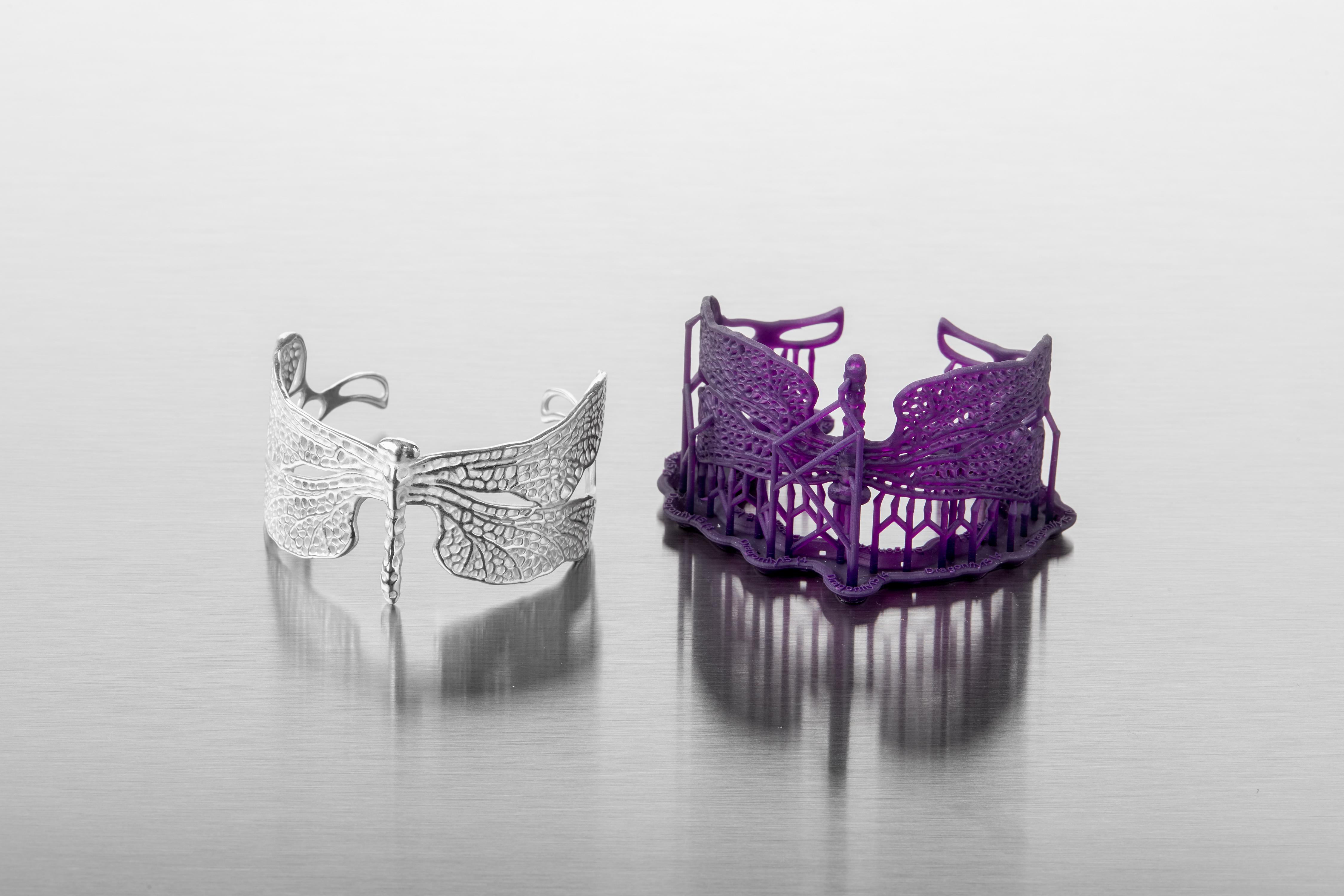 Formlabs mit neuem Resin für 3D-Druck in Schmuck- und Juwelierbranche