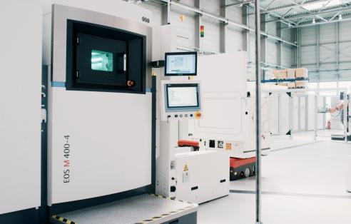 EOS Global treibt mit Gemeinschaftsprojekt die digitale Fabrik der Zukunft voran