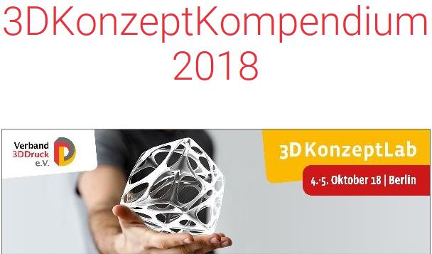 """Netzwerk-Mitglied """"Verband 3DDruck e.V."""" stellt Kompendium über Veranstaltung vor"""