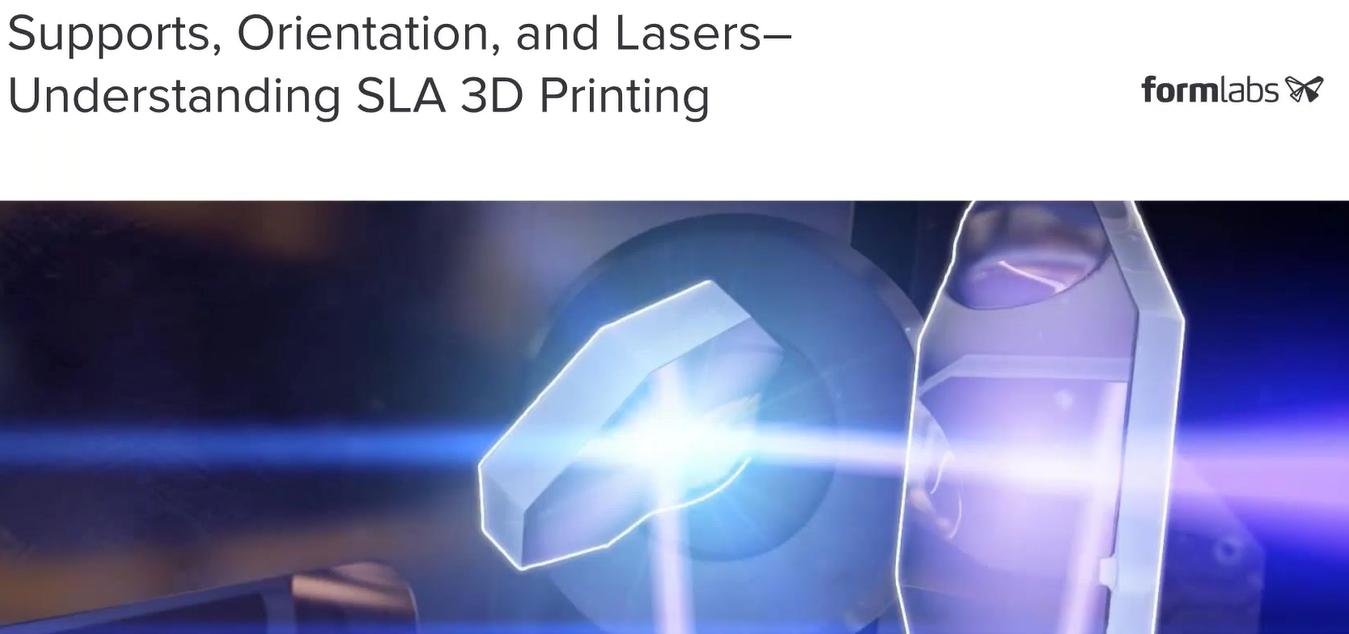 "Formlabs: Webinar ""SLA 3D-Druck verstehen"""
