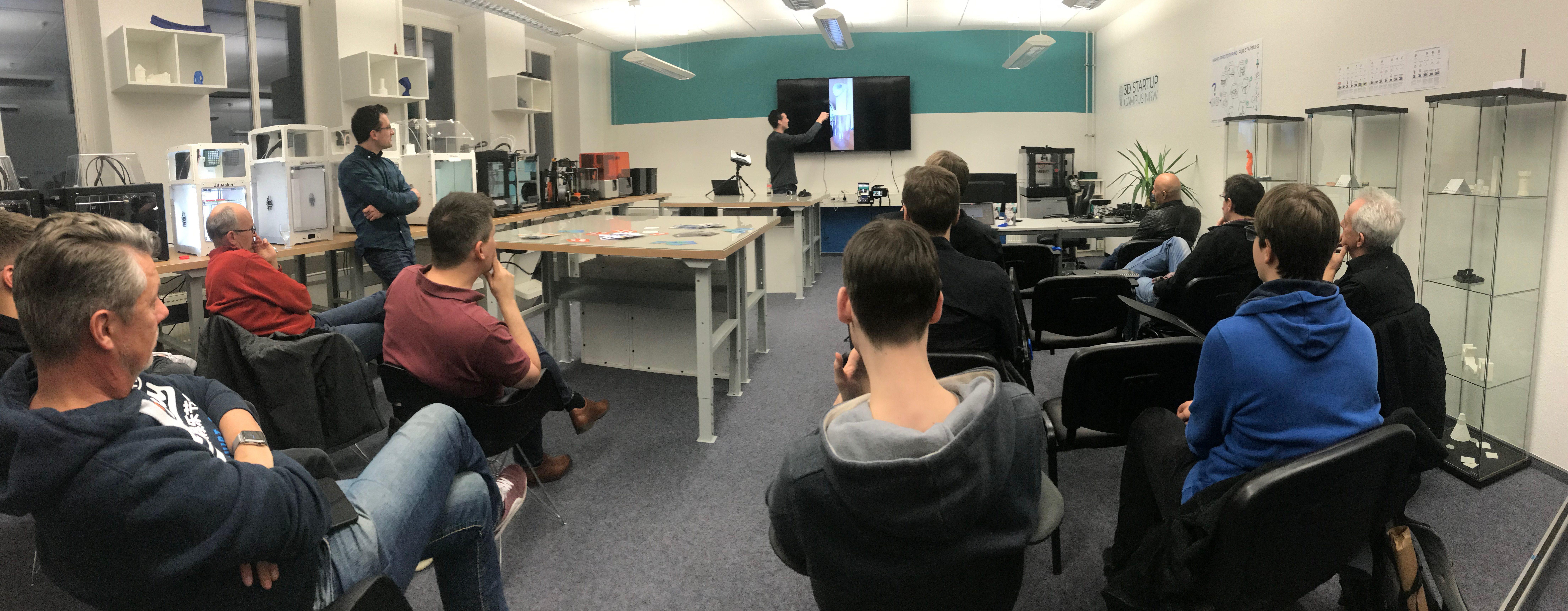 """Von """"Die Höhle der Löwen"""" zum """"3D Startup Campus NRW"""""""