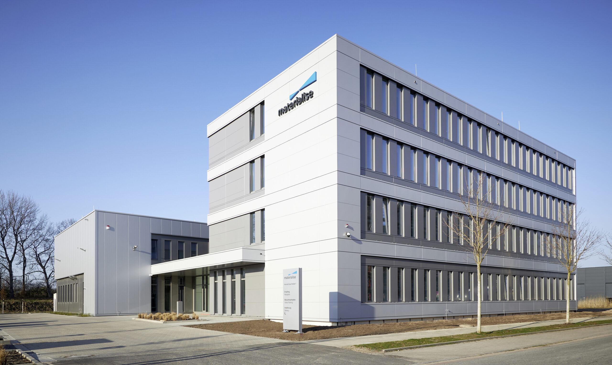 3D-Netzwerk Mitglied Materialise startet neues Metall-Kompetenzzentrum