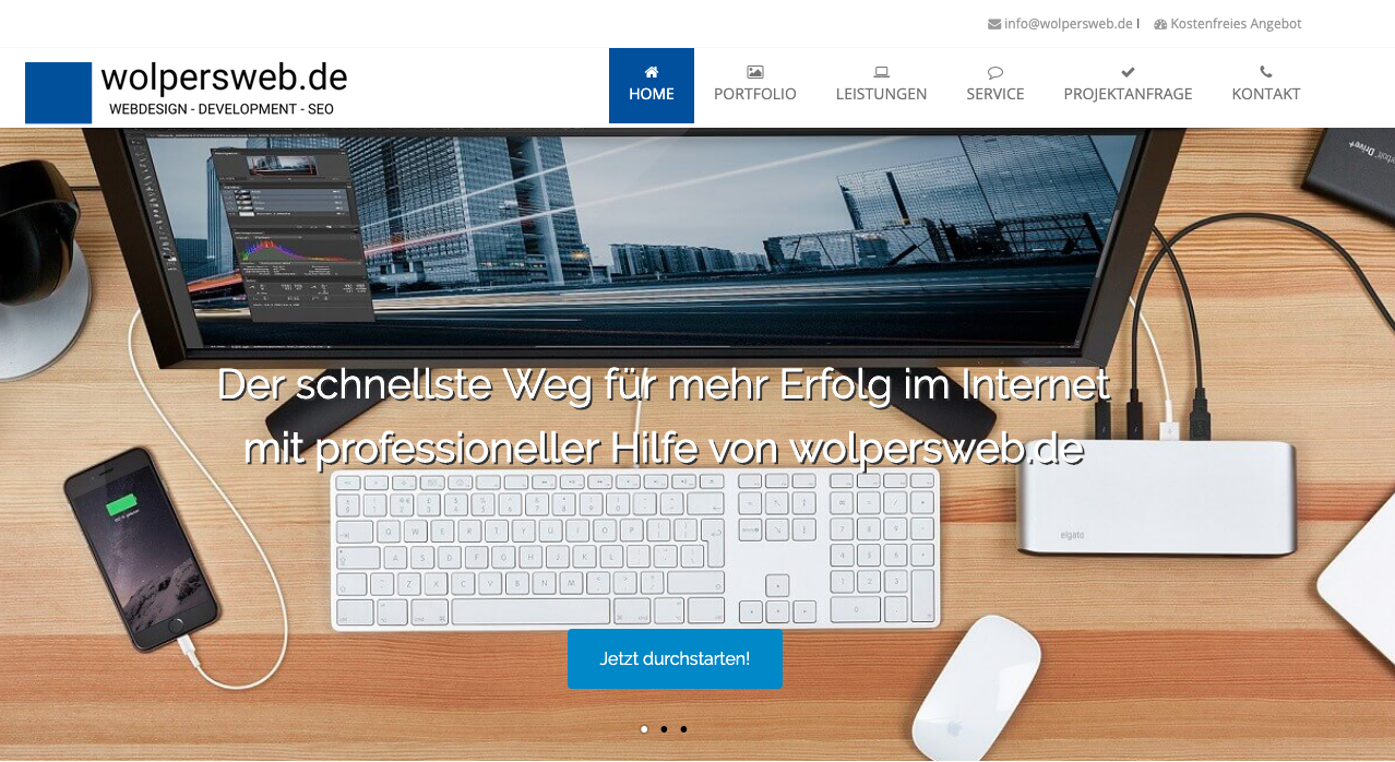 wolpersweb.de Webdesign & Web Development